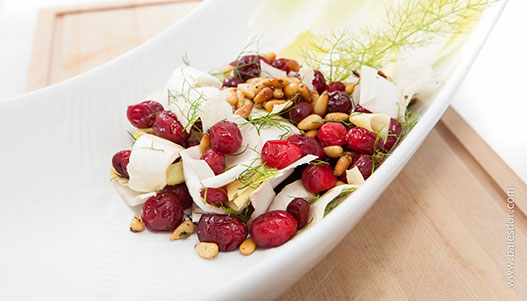 Fresh Baies d'Or cranberry salad